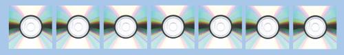 Plantilla para hacer la maceta de cds reciclados con forma de casa