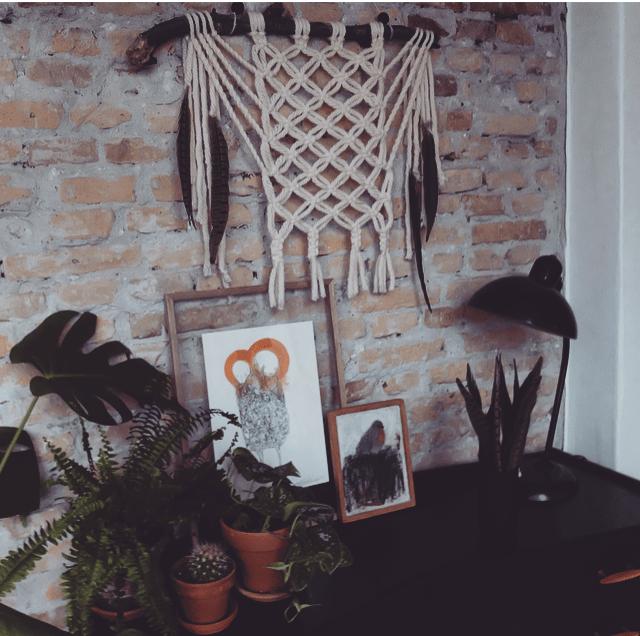 ideas para decorar con macramé 21