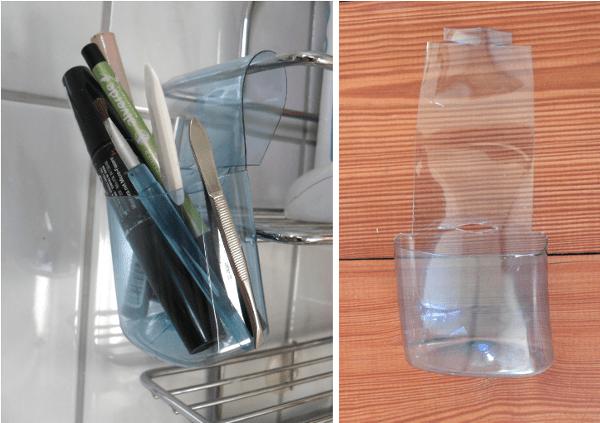 reciclaje botellas de champú 10