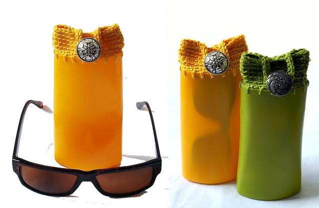 reciclaje botellas de champú 2