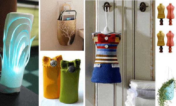 Reciclaje botellas de champú: 50 geniales ideas