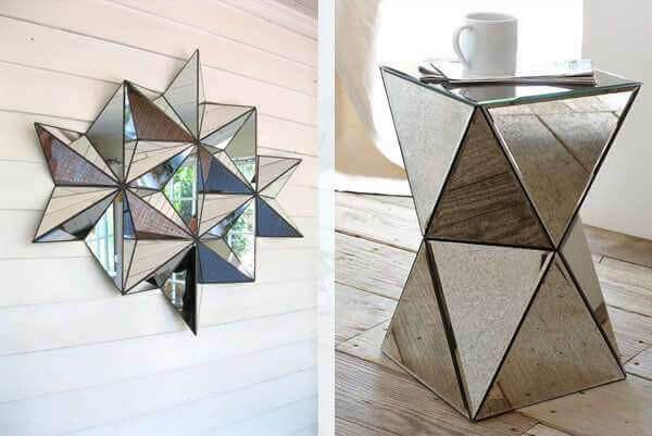 ideas para decorar con espejos muebles y adornos