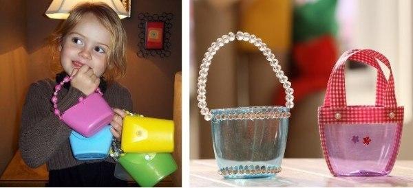 Reciclaje botellas de champú ideas carteras niños