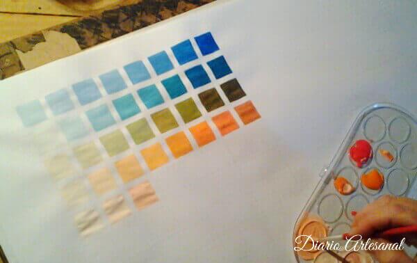 Receta para hacer pintura casera