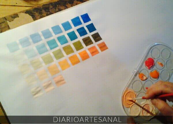 Receta para hacer pintura casera de huevo