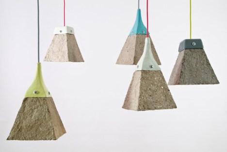 Reciclaje de papel ideas luminarias