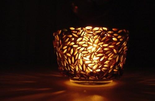 Reciclaje de papel ideas candelabros