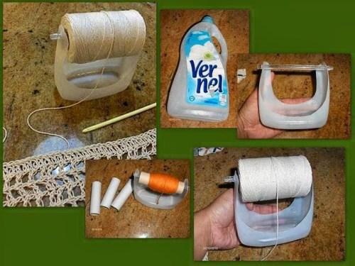 Trucos para tejer con reciclaje