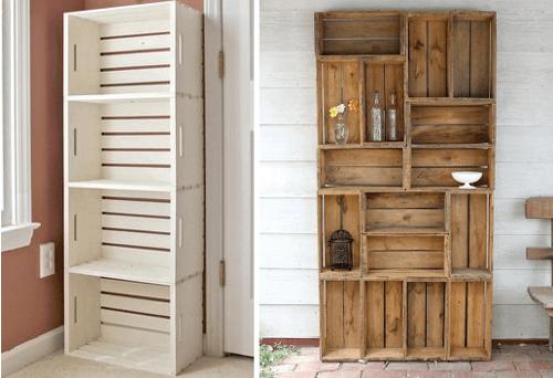 muebles de cocina en reciclado modelos de estanteras de cocina con cajones reciclados