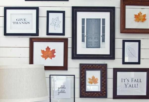 Cuadros decorativos para el otoño
