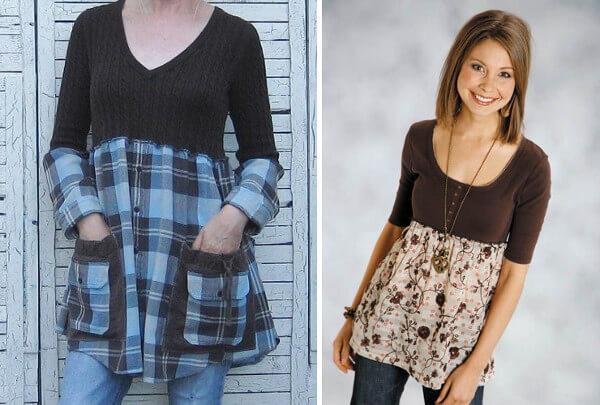 Transformar las prendas de ropa