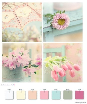 Colores vintage pastel