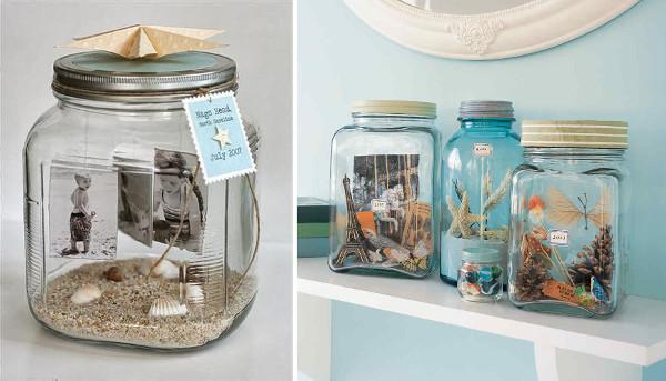 Dioramas en frascos