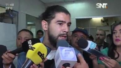 Dan prisión domiciliaria al futbolista de Olimpia, Rodrigo Burgos