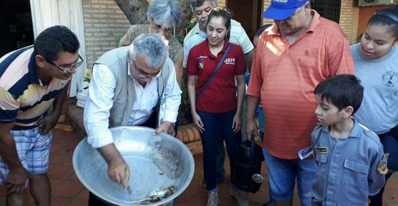 Cámara Junior de San Lorenzo se blindó contra el dengue