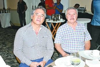 Hernán Bermúdez y Jaime Lastra