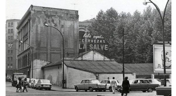 Antinguo anuncio de 1902 de cervezas La Salve