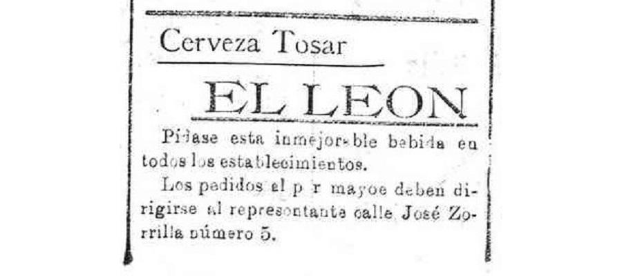 4 anuncios de cerveza El León