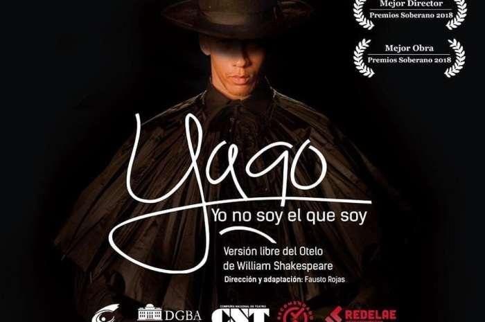 """""""YAGO, YO NO SOY EL QUE SOY"""" PARA CELEBRAR EL DÍA MUNDIAL DEL TEATRO"""