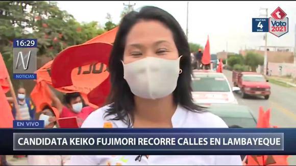 """Keiko Fujimori: """"Creo que es fundamental que busquemos los consensos"""""""