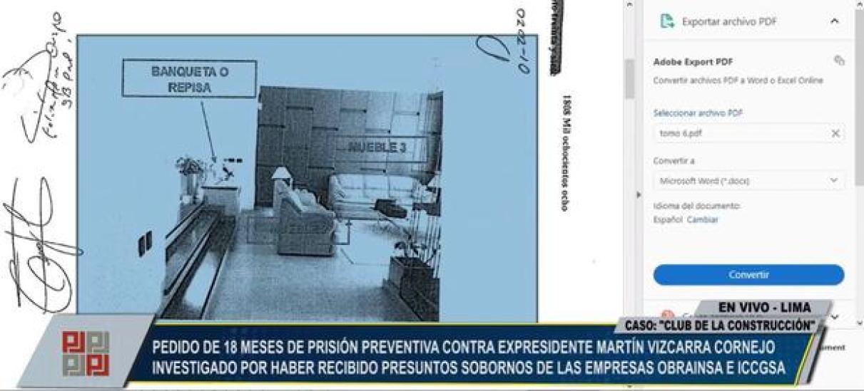 Germán Juárez presentó conversaciones por WhatsApp y fotos de la casa de José Hernández para corroborar pagos a Martín Vizcarra.