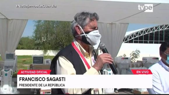 Francisco Sagasti sobre la vacuna peruana