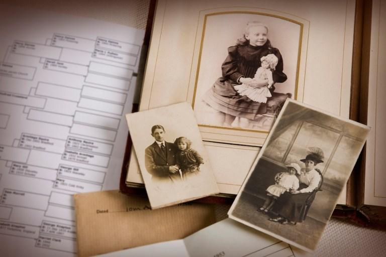 Levantar as informações familiares