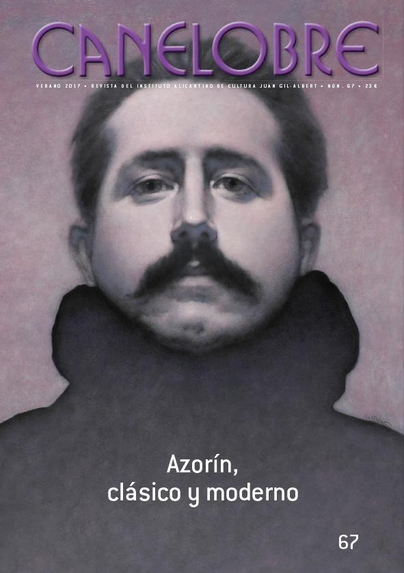 Portada Azorín