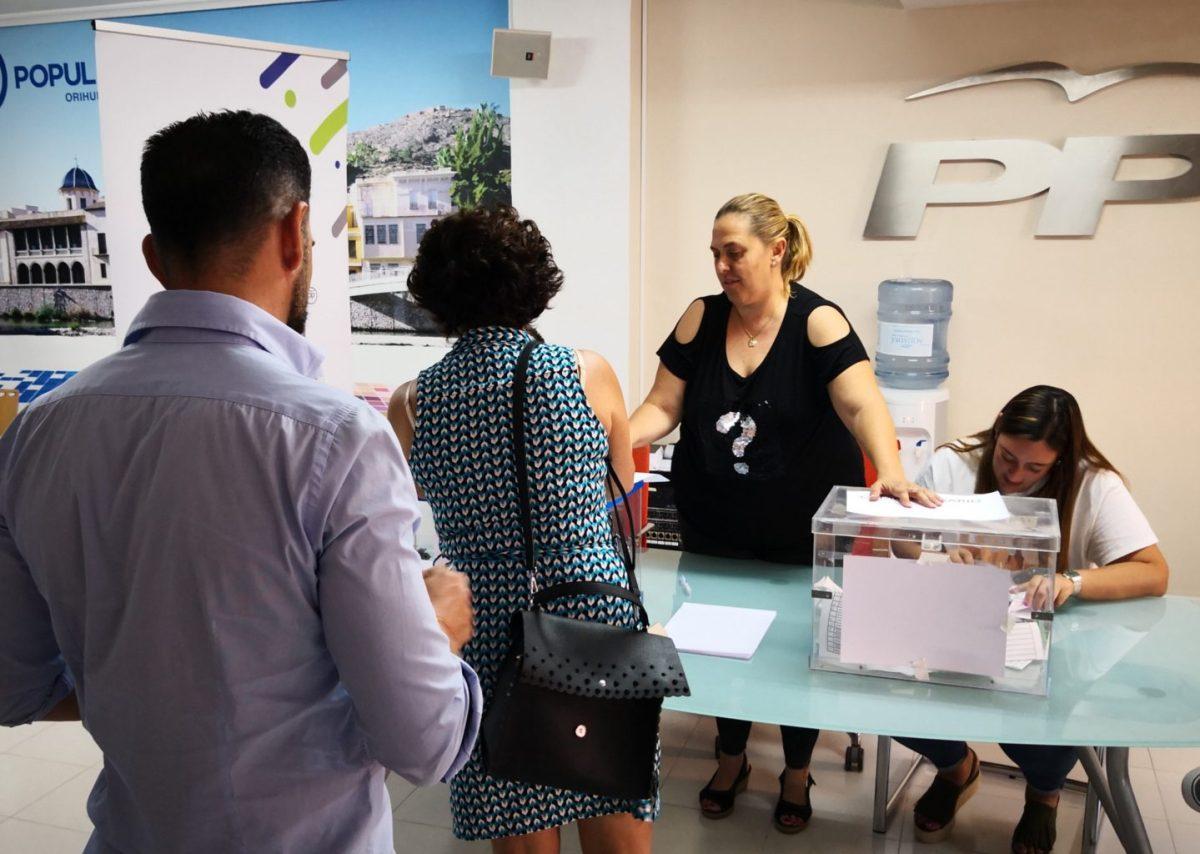 13 compromisarios representarán a Orihuela en el Congreso Nacional del PP