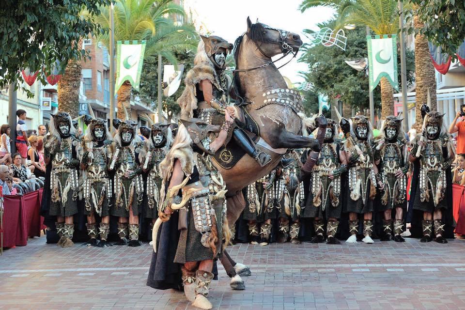 Cocentaina inicia las Fiestas de Moros y Cristianos del 2018
