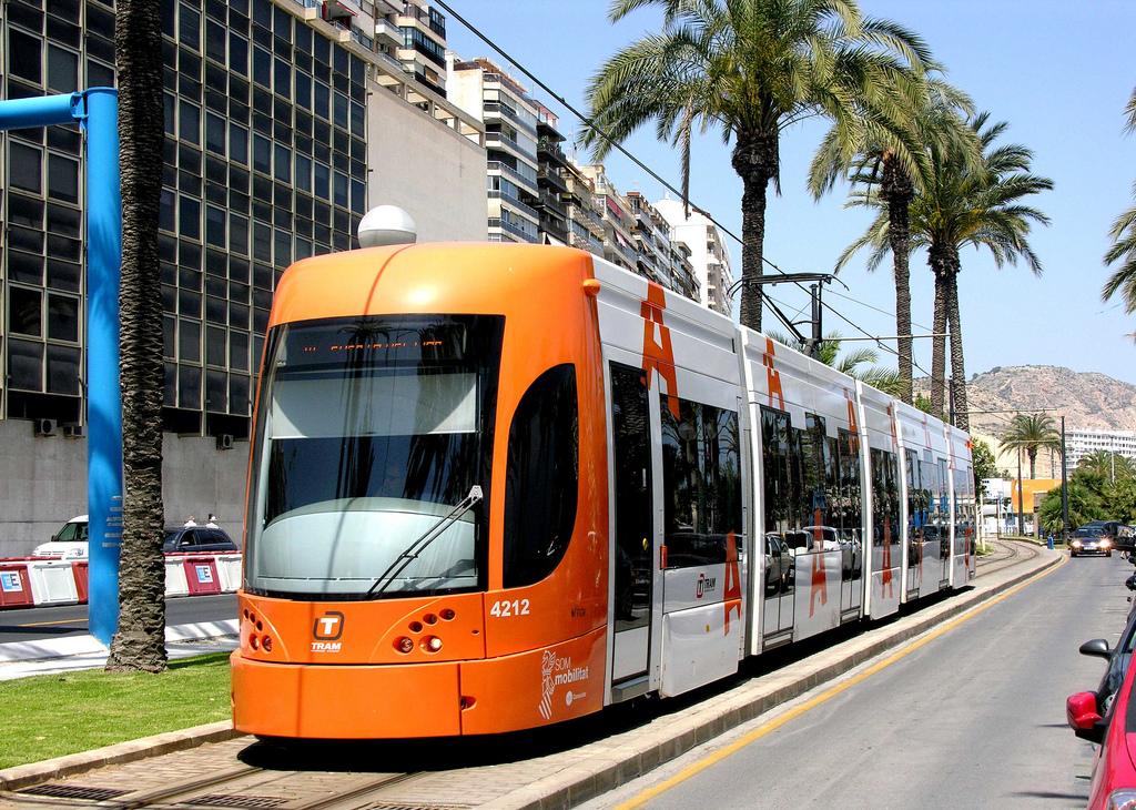 El TRAM de Alicante será gratuito el próximo 22 de septiembre