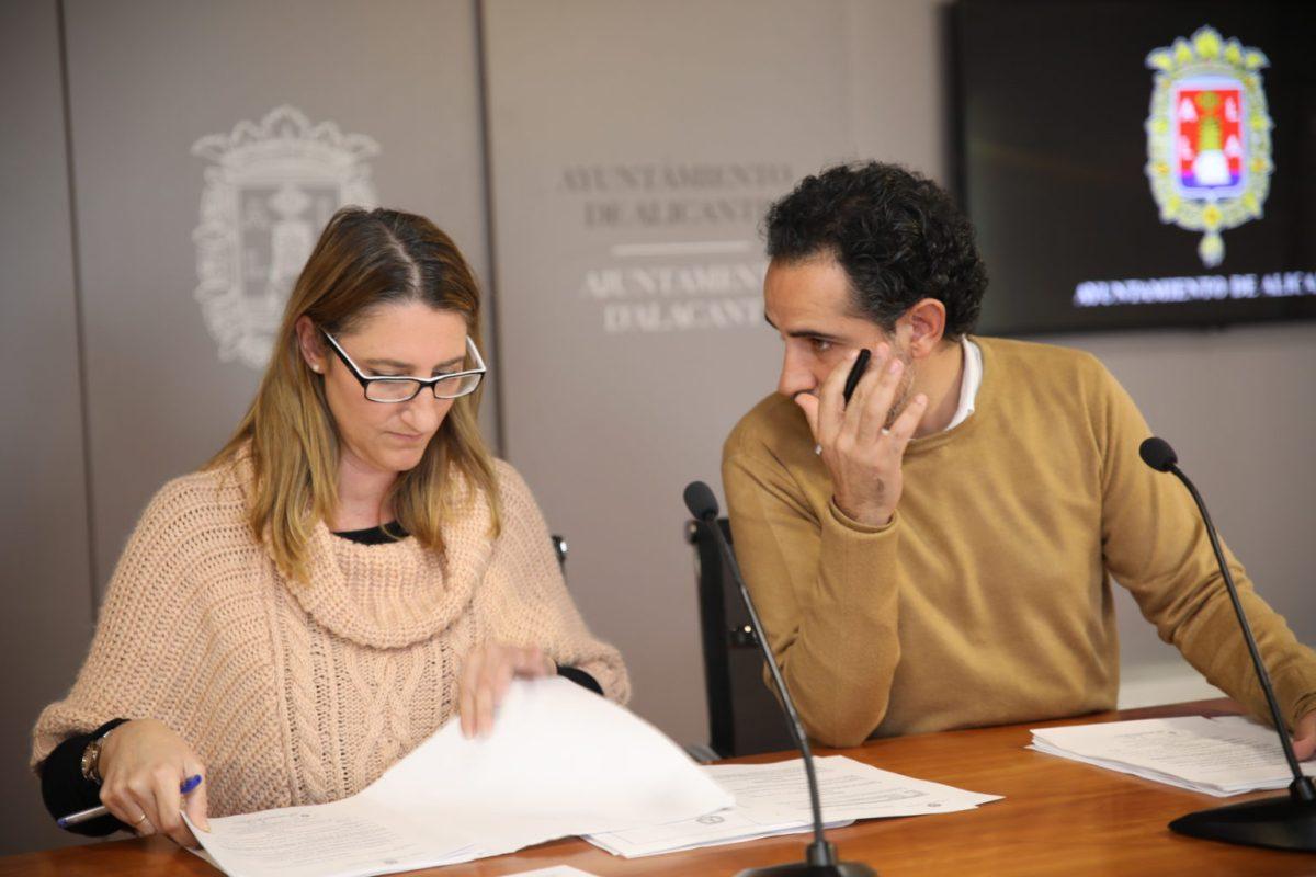 El Ayuntamiento de Alicante invierte medio millón de euros en proyectos EDUSI