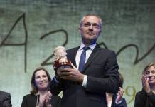 Joaquín Camps levantado su Premio Azorín 2019/elpais.com