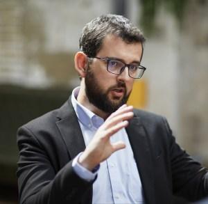Ignasi Candela, candidato de Compromís al Congreso por la provincia de Alicante.