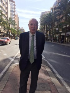 García-Margallo en la avenida Alfonso El Sabio de Alicante / PP Alicante