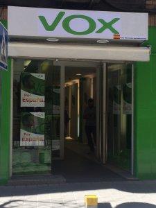La sede de VOX San Vicente, arreglada/ VOX San Vicente.
