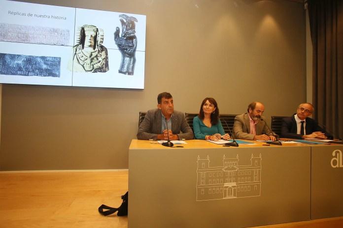 La rueda de prensa sobre la exposición del MARR en Irán / Diputación de Alicante