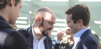 Raúl Dalmau junto a Pablo Casado / PP Alicante