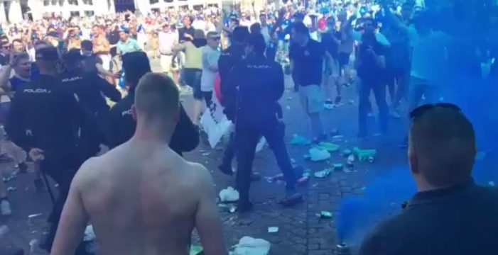 Image result for incidentes plaza mayor