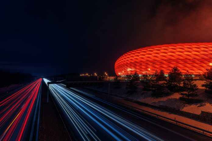 time lapse photography during nighttime Bayern