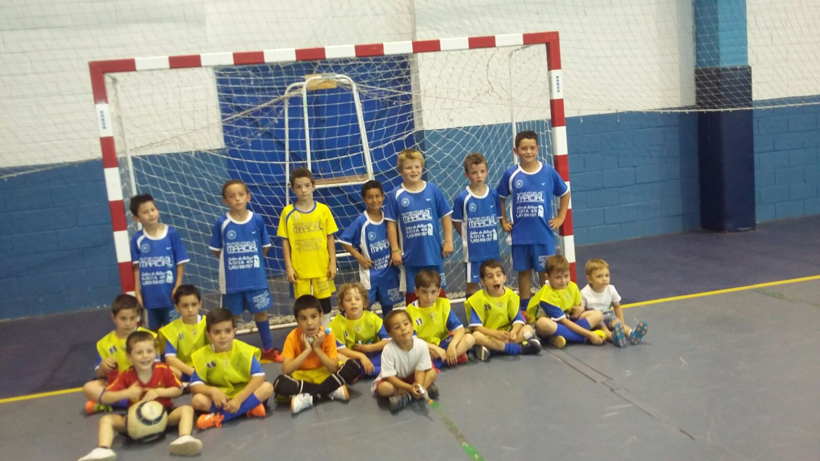 02 Fútbol Sala – C. F. Jaraíz – Imágenes de Archivo