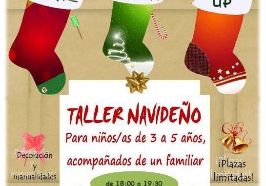 Taller Navideño para niños de 3 a 5 años