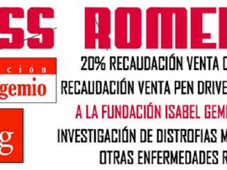 Guss Romero y la Fundación Isabel Gemio