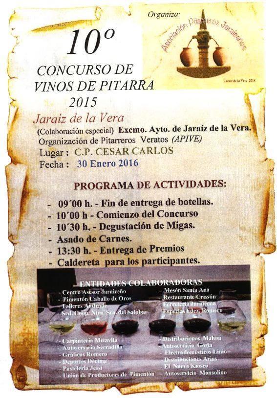Programa de actividades del día 30 de enero