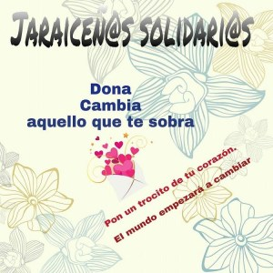 Grupo de Facebook - Jaraiceños Solidarios.