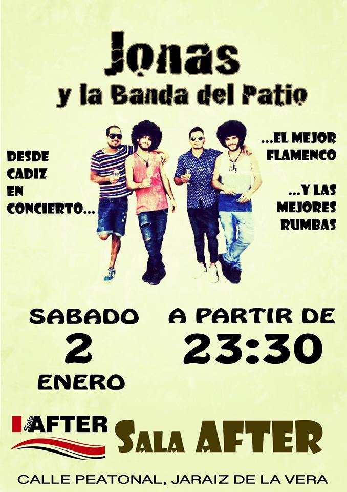 Flamenco y Rumbas. Jonas y la Banda del Patio