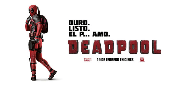 Llega Deadpool la peli más gamberra