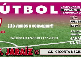C.F. Jaraíz vs C.D. Ciconia Negra