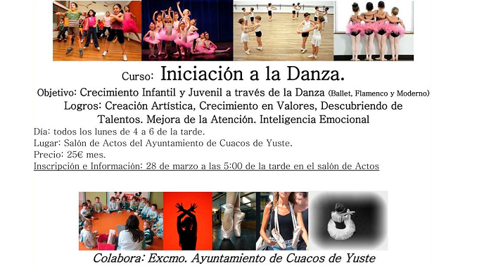 Iniciación a la Danza en Cuacos de Yuste