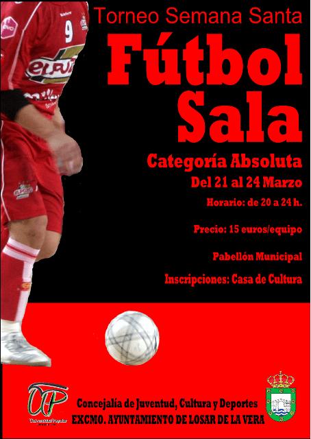 Torneo de Fútbol Sala Semana Santa en Losar de la Vera